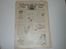 69 Dan Beard Articles From 1897-1930's From Lady's Home Journal, American Boy, Lone Scout, Boys Life, and Others; Could Have Been from Dan Beard's Personal Collection