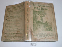 1916 The Boy Scout's Hike Book, By Edward Cave, Norman Rockwell's first book of illustrations, with dust jacket