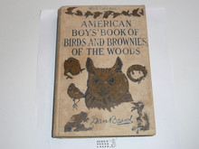 1931 The American Boy's Book of Birds and Brownies of the Woods, By Dan Beard, Some wear to cover