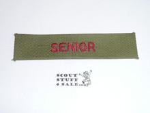Program Strip - Senior