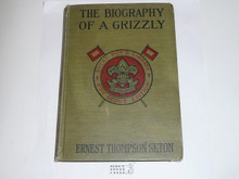 The Biography of a Grizzly, By Ernest Thompson Seton, 1919, Every Boy's Library Edition, Type Two Binding