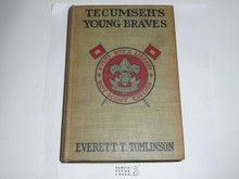 Tecumseh's Young Braves, Everett T. Tomlinson, 1913, Every Boy's Library Edition, Type Two Binding
