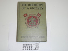 The Biography of a Grizzly, By Ernest Thompson Seton, Every Boy's Library,  Type Two Binding