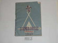 1947 World Jamboree English Diary and Information Book