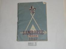 1947 World Jamboree English Diary and Information Book