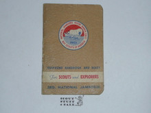 1953 National Jamboree Telephone Handbook and Diary 13695