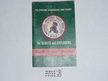 1957 National Jamboree Telephone Handbook and Diary