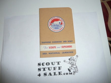 1953 National Jamboree Telephone Handbook and Diary