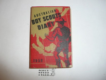 Foreign Scout Diary, 1959, Australian