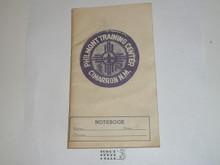 Philmont Training Center Notebook, undated