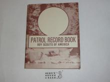 Patrol Record Book, 1987 Printing