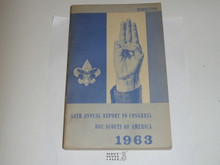 1963 Boy Scouts of America Annual Report to Congress