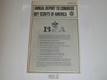 1970 Boy Scouts of America Annual Report to Congress
