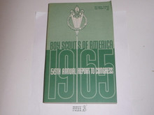 1965 Boy Scouts of America Annual Report to Congress