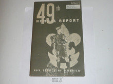 1958 Boy Scouts of America Annual Report to Congress