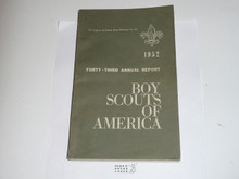1952 Boy Scouts of America Annual Report to Congress