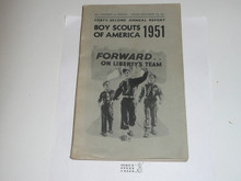 1951 Boy Scouts of America Annual Report to Congress