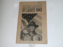 1943 Boy Scouts of America Annual Report to Congress