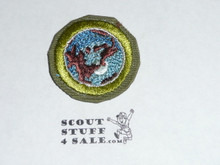 World Brotherhood - Type E - Khaki Crimped Merit Badge (1947-1960)