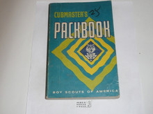 1971 Cubmaster's Packbook, Cub Scout, 9-71 Printing