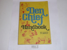1980 The Den Chief's Handbook, Cub Scout, 7-80 Printing