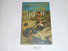 1959 The Den Chief's Denbook, Cub Scout, 12-59 Printing