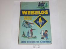 1978 Webelos Cub Scout Handbook, 7-78 Printing, used