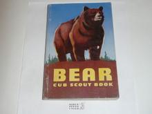 1961 Bear Cub Scout Handbook, 10-61 Printing, lt. use