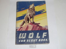 1959 Wolf Cub Scout Handbook, 10-59 Printing, used