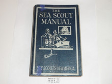 1945 The Sea Scout Manual, Sixth Edition, Eighth Printing