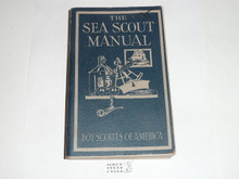 1945 The Sea Scout Manual, Sixth Edition, Seventh Printing