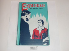 1969 Explorer Scout Members Guide, First Edition, First Printing, RARE Official Library Bound Printing