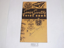 1943 Senior Scouting Guidebook, 4-43 Printing