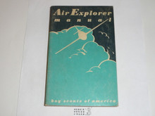1958 Air Explorer Manual. Air Scout, Second Edition, May 1958 Printing