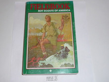 1991 Boy Scout Field Book, Third Edition, 1991 Printing, lt wear