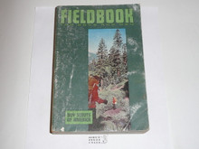 1967 Boy Scout Field Book, Second Edition, First Printing, used condition