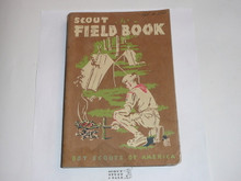 1959 Boy Scout Field Book, First Edition, Fourteenth Printing, Lightly used Condition