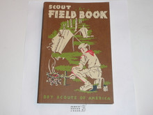 1958 Boy Scout Field Book, First Edition, Thirteenth Printing, MINT condition
