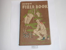1953 Boy Scout Field Book, First Edition, Eighth Printing, used condition