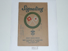 Signaling Merit Badge Pamphlet , 1926 Printing