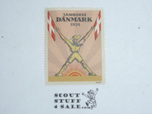 1924 World Jamboree Gummed Seal /Stamp
