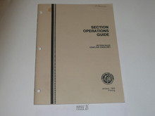 Order of the Arrow Section Operations Guide, 1989, 1-89 printing