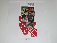 Order of the Arrow Brochure, 2000's, unknown Printing date
