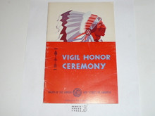 Vigil Ceremony Manual, Order of the Arrow, 1978, 6-78 Printing