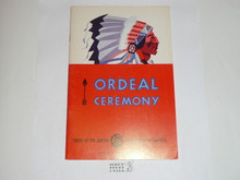Ordeal Ceremony Manual, Order of the Arrow, 1977, 5-77 Printing