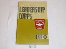 1972 Leadership Corps Handbook, MINT Condition