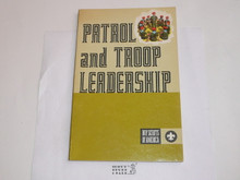 1972 Patrol and Troop Leadership Handbook, Fourth Edition, First Printing, MINT Condition 18045