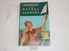 1956 Handbook For Patrol Leaders,  World Brotherhood (Second) Edition, MINT Condition