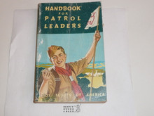 1956 Handbook For Patrol Leaders,  World Brotherhood (Second) Edition, Lightly used Condition