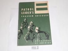 1969 Patrol Leader's Program Notebook, MINT Condition